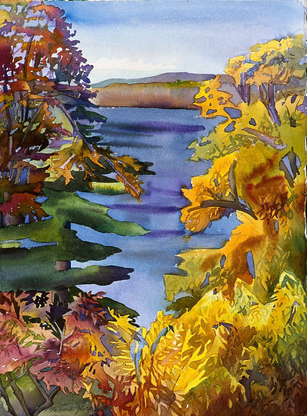 Sandy Pond, Autumn