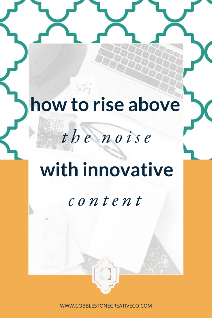 Ready to take your content marketing strategy to the next level? It starts by being innovative. Not sure how to create innovative content? Click through to discover 5 ways to create content that rises above the noise.