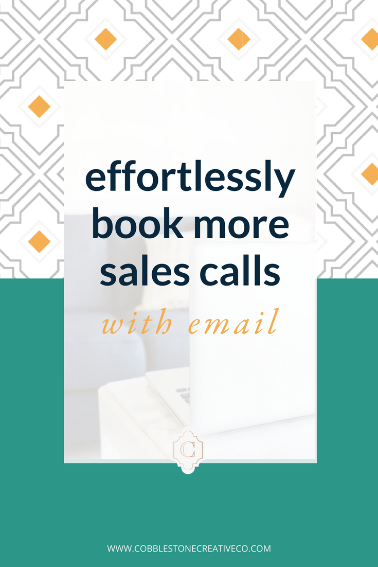 Your email list has the power to generate serious revenue in your business. Did you know that you can easily book more sales calls using your mailing list? Click through to learn 4 ways you can get more sales calls through email.