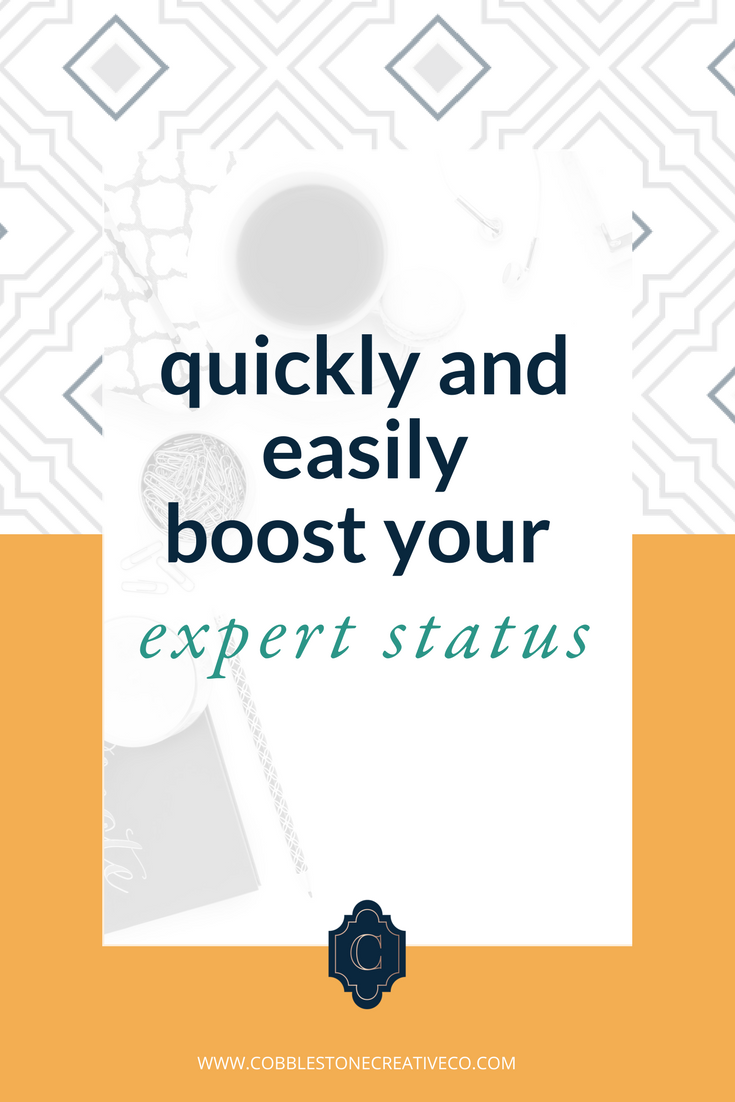 Getting ready to launch? Before opening your cart, you may want to boost your expert status and authority so that you don't launch to crickets or confusion. The best way to build expert status is to be featured in various places to build some high level visibility. Click through to discover 5 ways you can show off your expertise before your next launch.