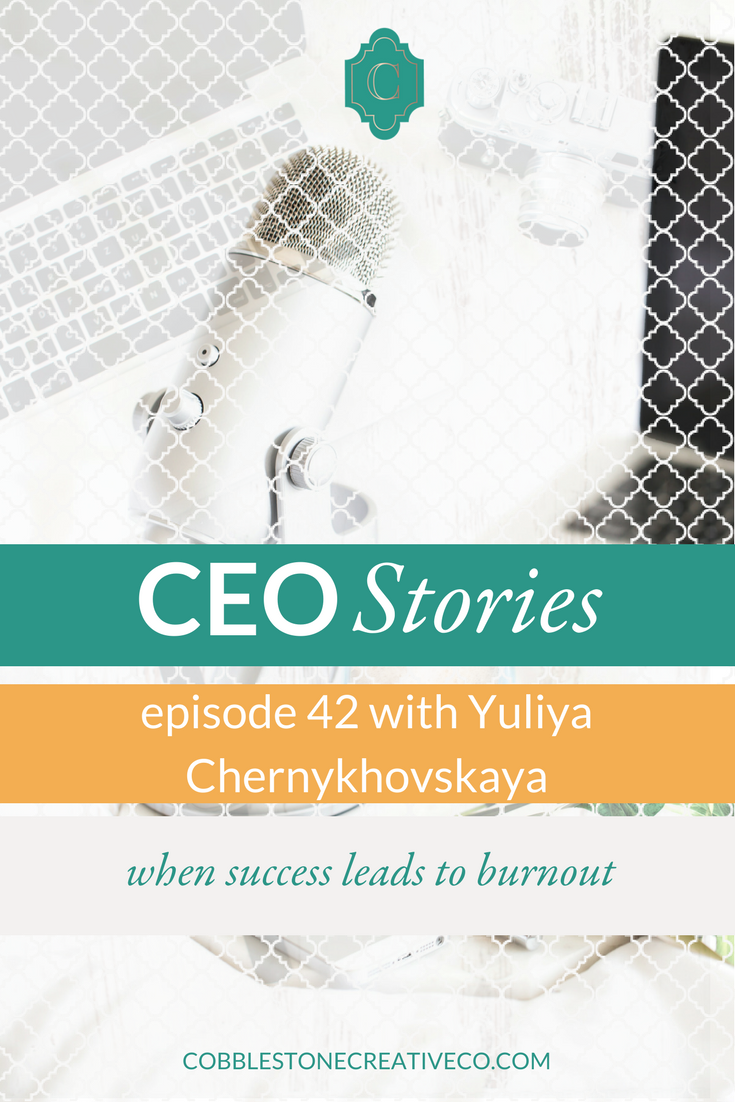 Your business is only as healthy as you are, and Yuliya learned that the hard way as she's had her best months ever quickly followed by massive burnout. Learning the hard way, Yuliya now knows how to have success and still keep your health and your business sustainable.