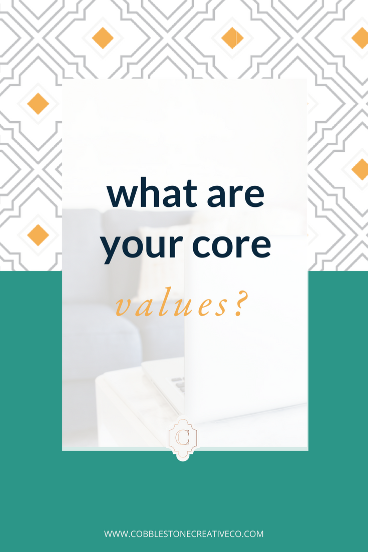 Over and over in messaging intensives or work with my clients I ask them this question: what are your core values?  And over and over they can't answer or I have to ask lots more questions to define them.  In this video, I talk about why this should be an easy answer + how to use it when you have it.  Need help with your core values?  Start will by finding your style of influence with this quiz: cobblestonecreativeco.com/quiz  Want to refine your message, movement, or marketing? Let's chat! Schedule your free call at cobblestonecreativeco.com/discovery
