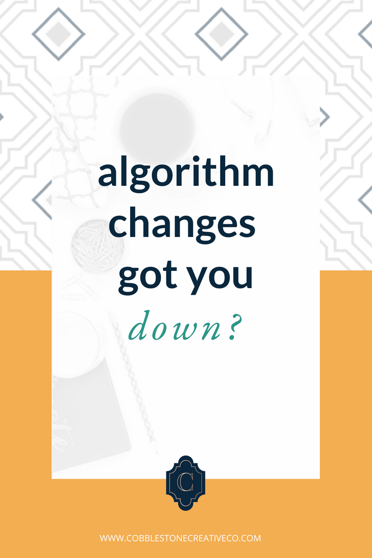 Algorithm changes got you down?  Bad news: it will change again. Lots. On every channel.  Good news: you don't have to freak out about it if you consistently do these 3 things I talk about in the video below.  Want my content funnel framework to get more engagement + more clients from social media? Grab it here: cobblestonecreativeco.com/contentfunnel