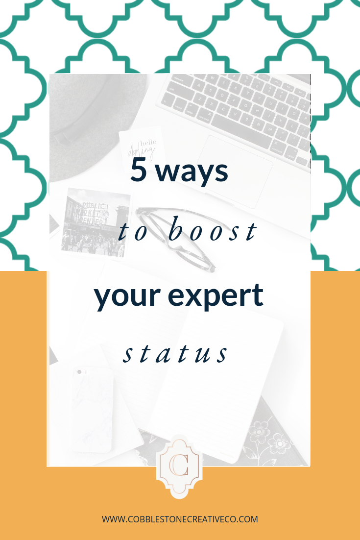In this video, I share the 5 Easy Ways to Boost Your Expert Status { So You Don't Launch to Crickets or Confusion }! I mean, let's be honest, we want our hard work to pay off and actually have people who love (and buy!) what we put out there!  Stressing about your launch? Not sure what to think about? Grab my checklist for your least stressful launch yet at    cobblestonecreativeco.com/checklist