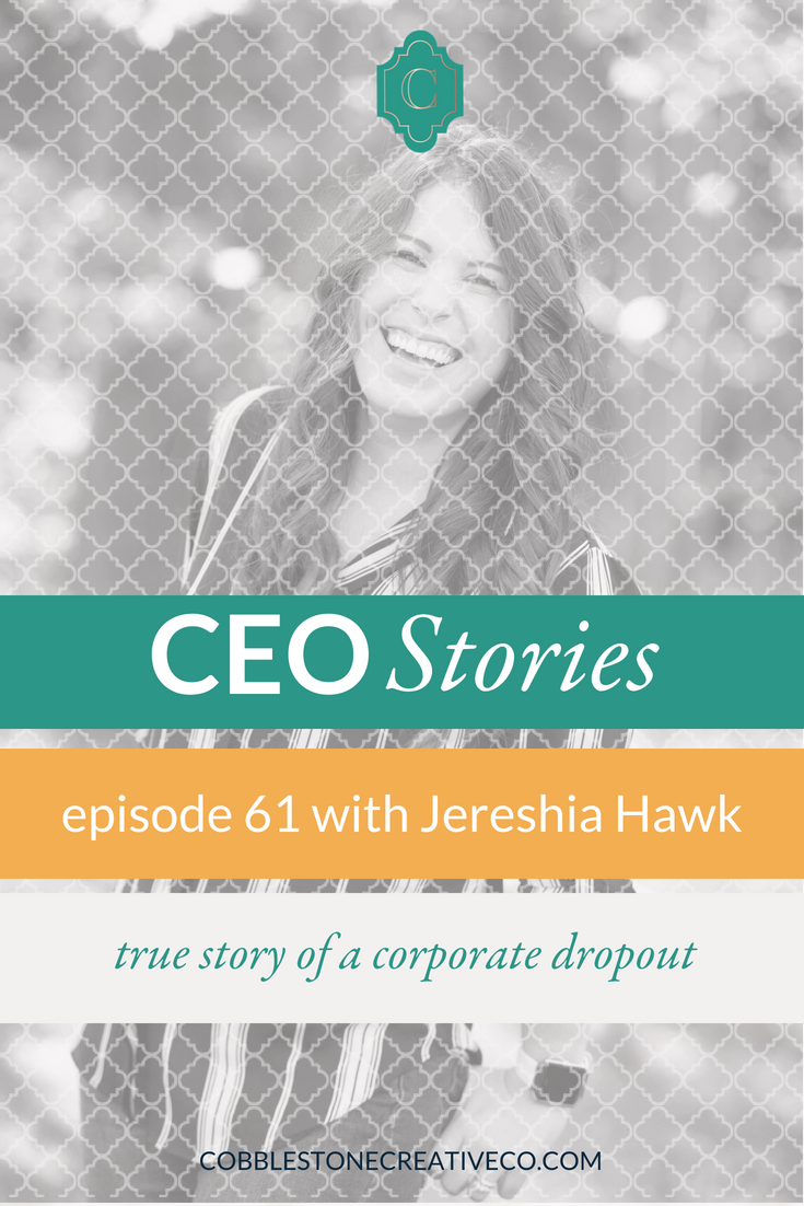 Jereshia Hawk was a born entrepreneur, but at first she chose the corporate path and rose quickly. Until one day she realized that she wouldn't be able to make the income or the impact she desired by climbing the ladder. So she started a business, and the rest is history.