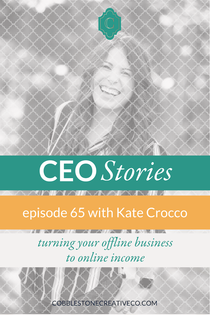 Kate Crocco learned entrepreneurship from her family. So when her job as a therapist became draining, starting her own practice made perfect sense. Today she shares her story of going from burned out therapist to private practice to booked out mindset coach online.