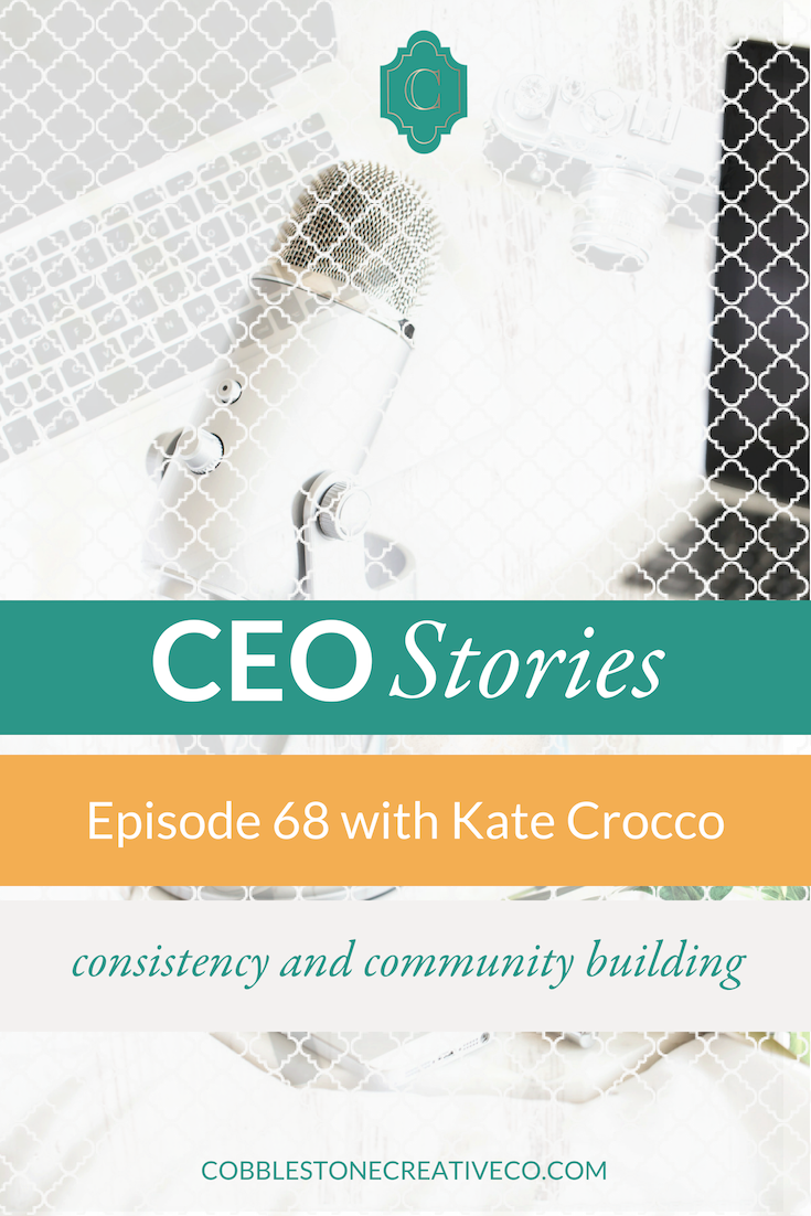 Kate Crocco built her business by getting comfortable getting visible. By taking the time to practice and focusing on service, she found her visibility style that helped her grow a six figure business fast and with more ease than she thought possible. She's sharing her best advice for going from invisible to impactful today.