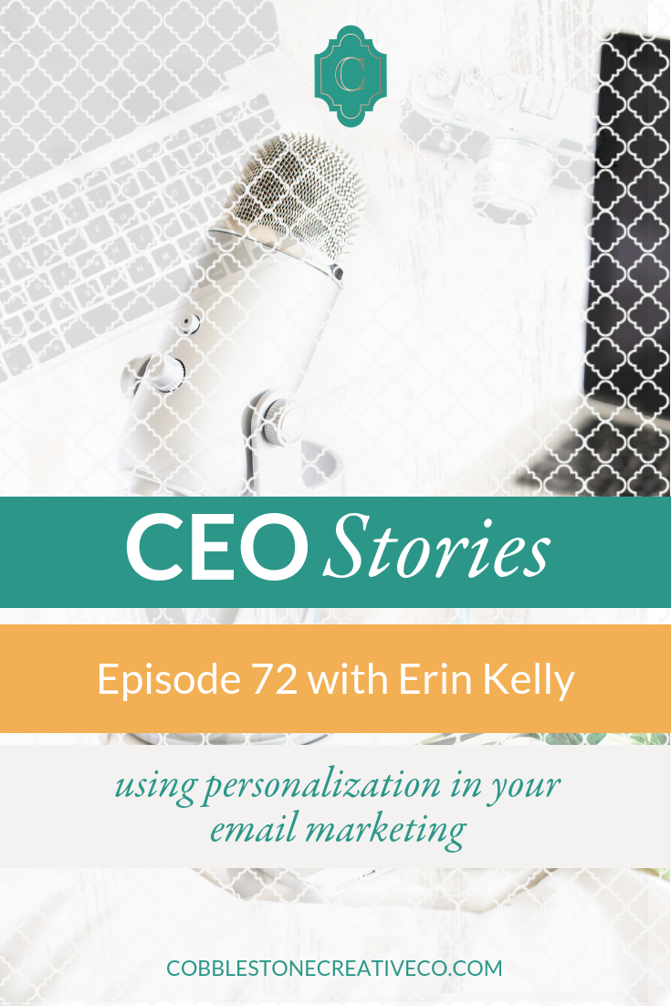 Erin Kelly is a relationship marketing whiz, and she's sharing her insights on how to use email to build relationships, connect with your audience, and generate more revenue by personalizing the email experience.