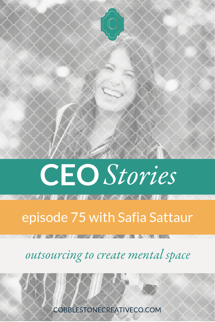 As entrepreneurs, our most valuable piece of real estate is the space we create in our brains for good ideas. When you're starting out, the hustle makes it feel like letting go isn't possible, but it's in outsourcing and cutting back that you find the inspiration to make bold moves as a CEO. Safia Sattaur is sharing her story of creating her CEO space and her tips for you to find it as well.