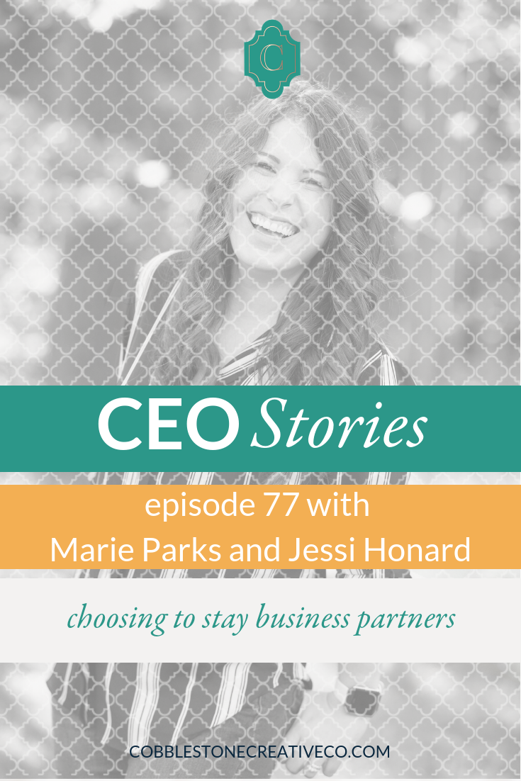 In the online space, business partnership is rarely seen and even more rarely front and center when it exists. Jessi Honard + Marie Parks are one duo that have been business partners for several years and they share with us a peek inside their journey to becoming partners and what it takes to stay that way every day.