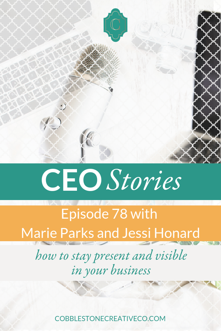 When you're an entrepreneur, your personal life and your business life tend to blur. That's what happened with North Star Messaging's Jessi + Marie. They found themselves stepping away from connecting and watching their business stumble because of it. They walk us through this moment of failure and how they shifted to find more success on the other side.