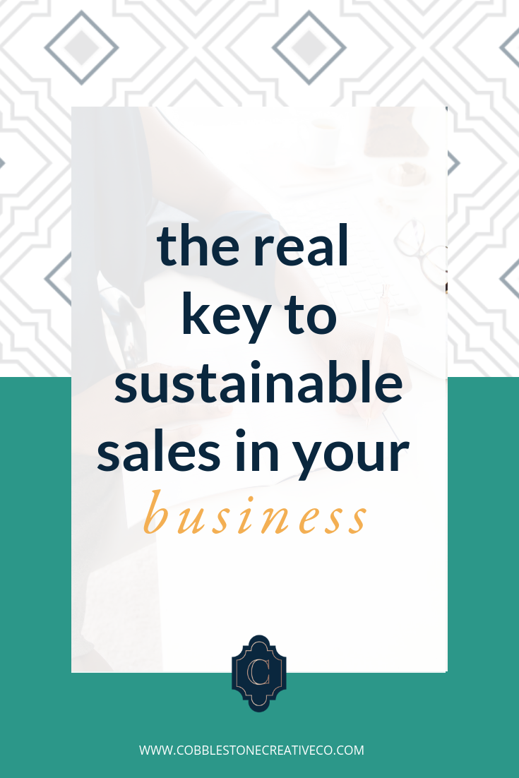 Wanna know the REAL key to sustainable sales in your business?   The conversion rate.    Why?  Because it shows your ability to  build relationships with your audience  + likely your ability to  elevate more conversions on the backend  of your offers too.  But there's  one thing KILLING people's conversions . It's super obvious and yet, they don't tend to it. This is especially important for your high ticket offers.  So listen up, friends, I'm sharing that conversion killer and what to do instead so you can create a business that lasts for the long-term.