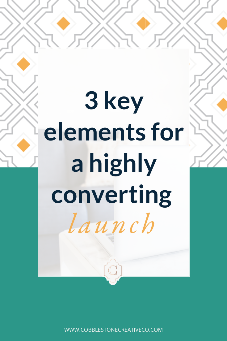 Want a  higher converting launch  this time around?    You need these   3 key elements   that have helped my clients get conversion rates  up to 11% !     Check it out in the video below!