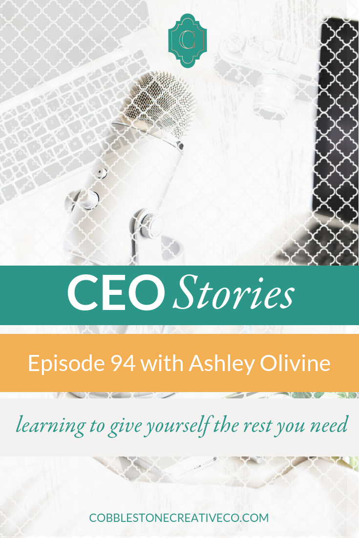 Most of us our experts in our businesses, but also we're usually REALLY bad at taking our own advice. Ashley Olivine found herself in the same position when she let her own physical and mental health drop on the priority list and she shares how she moved it back to a healthy place and stays there.