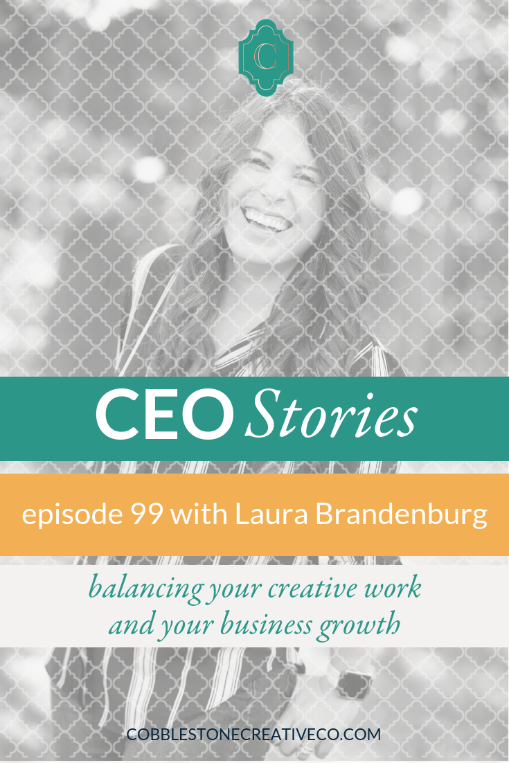 Growing a business is hard work, and building the right team and processes to become the CEO you were meant to be is no easy task. Laura Brandenburg learned that in corporate and found new challenges in trying to keep the corporate world out of her business and rebuilding balance back into her life and the lives of her team members.