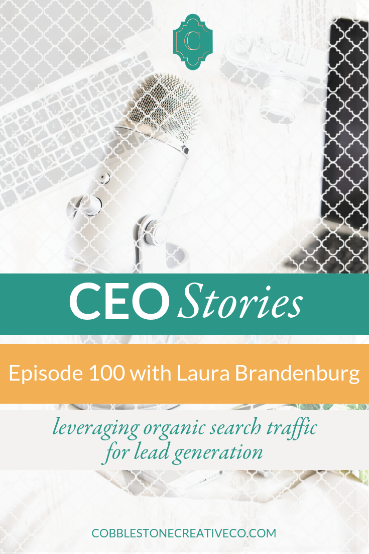 Organic lead generation feels like a holy grail in a world where pay to play through advertising is growing in popularity. Laura Brandenburg has cracked the code on organic lead generation — seeing as many as 2,000 organic leads a month from her website. She's sharing her shockingly simple SEO secrets with us today.