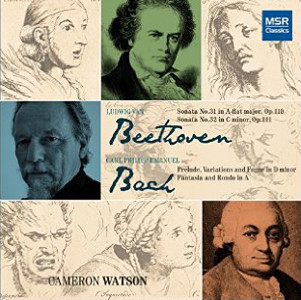 Cameron Watson   CPE Bach / Ludwig Van Beethoven  (2012)   Editor
