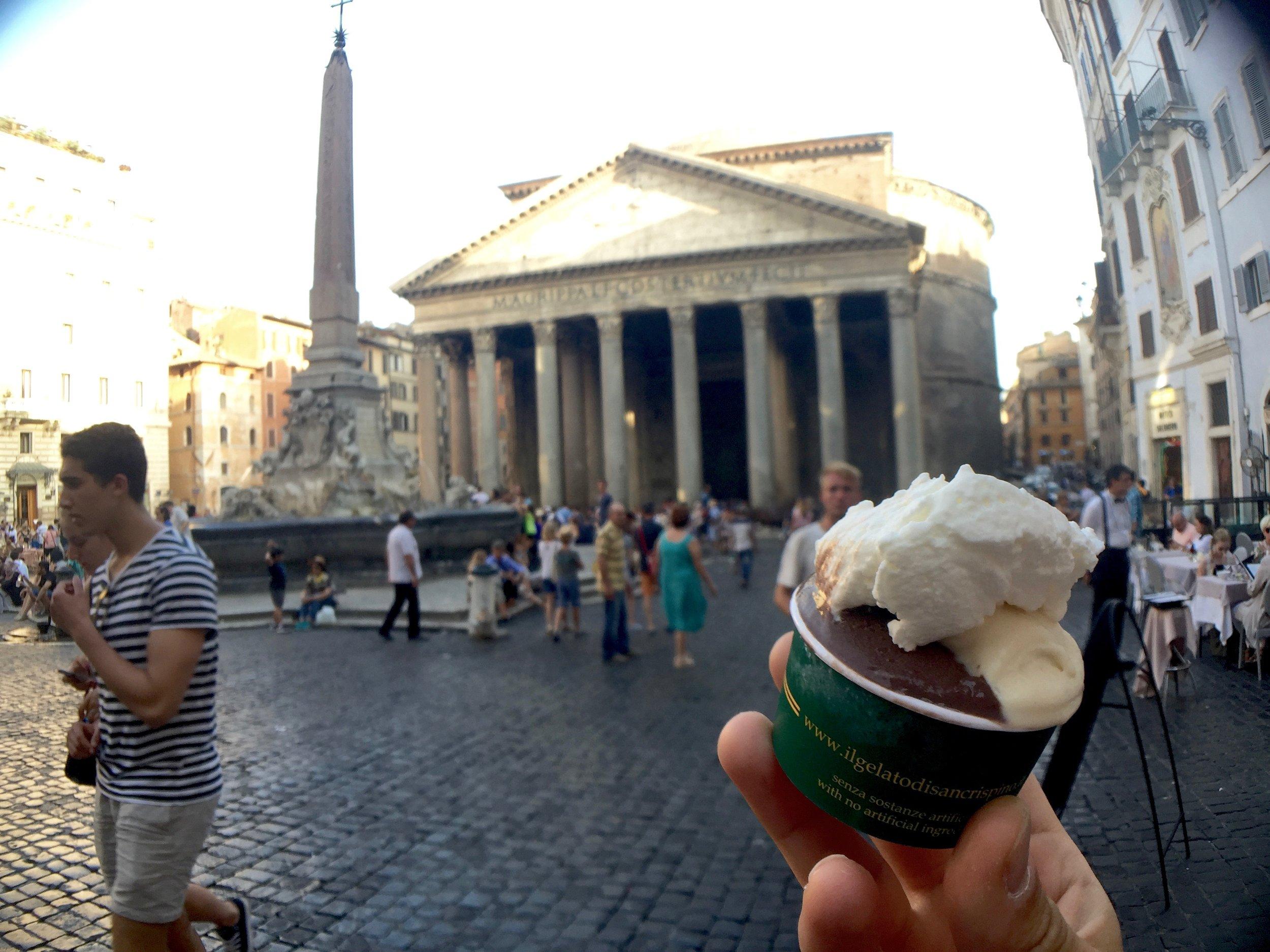 pantheon gelato