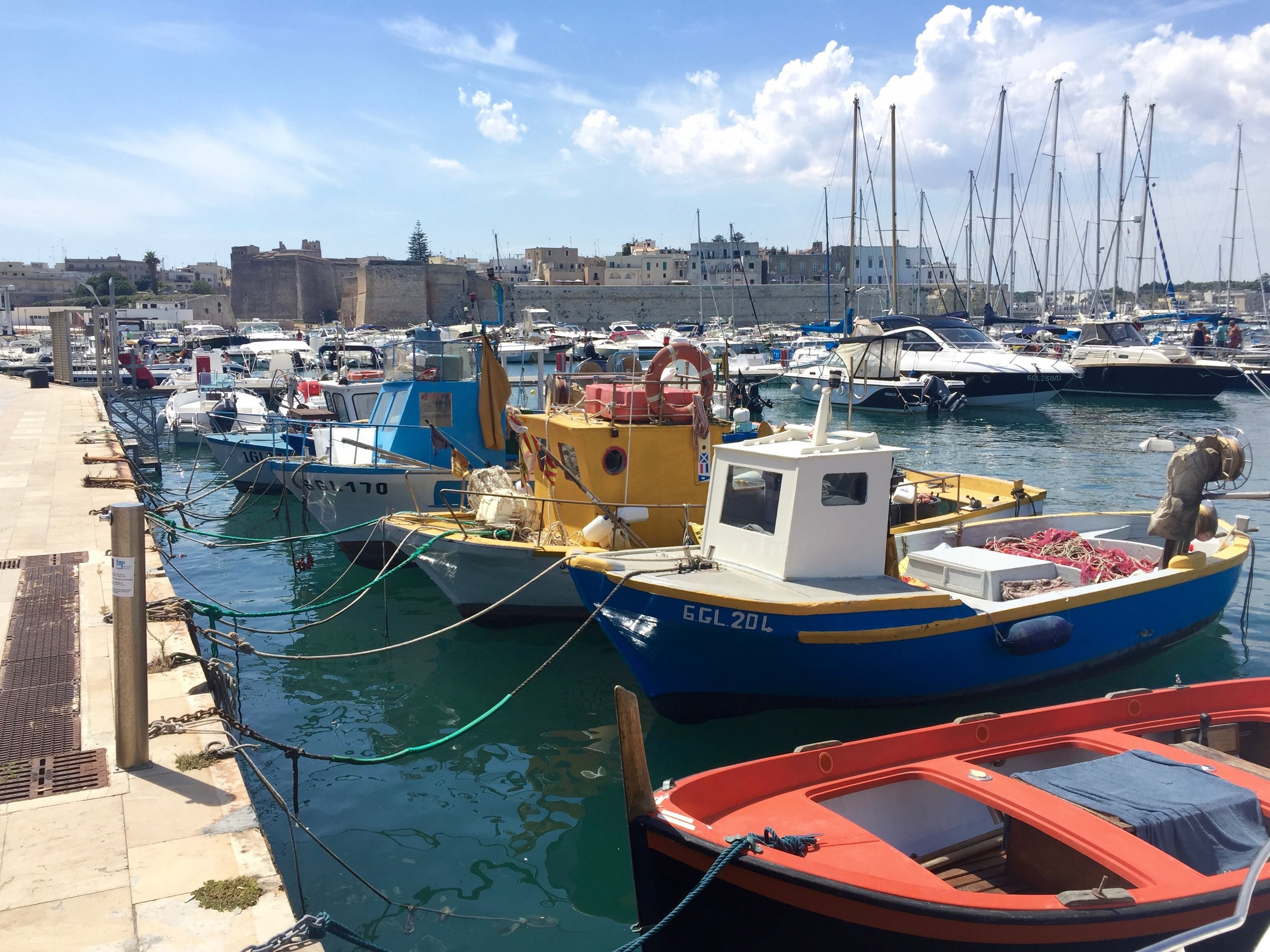 otranto boats