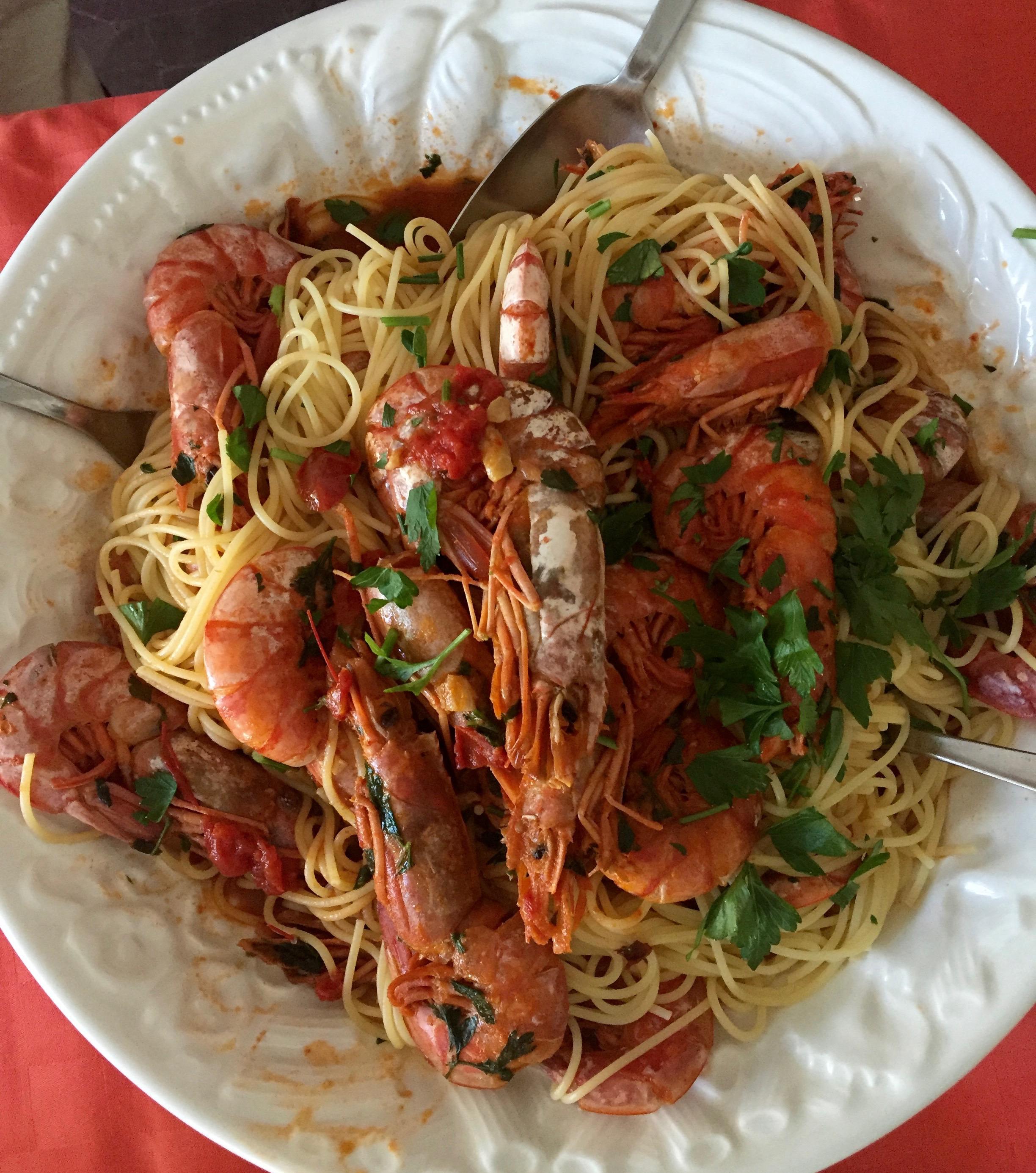 italian pasta shrimp