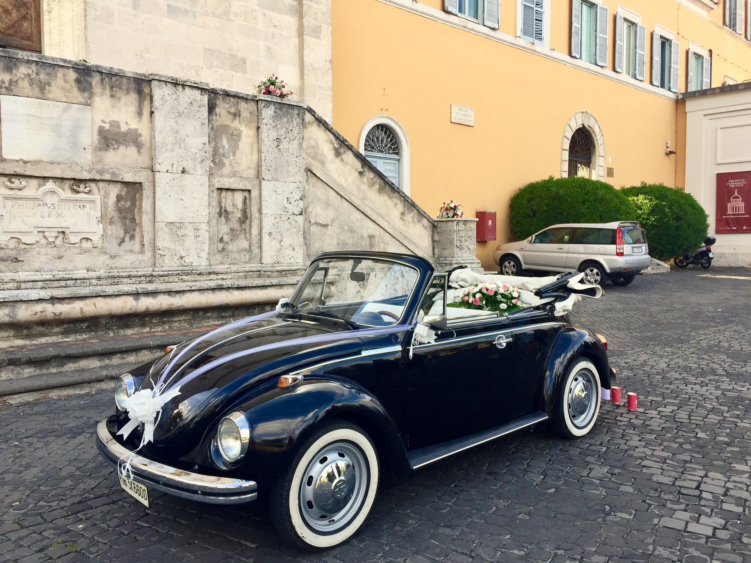 wedding car rome