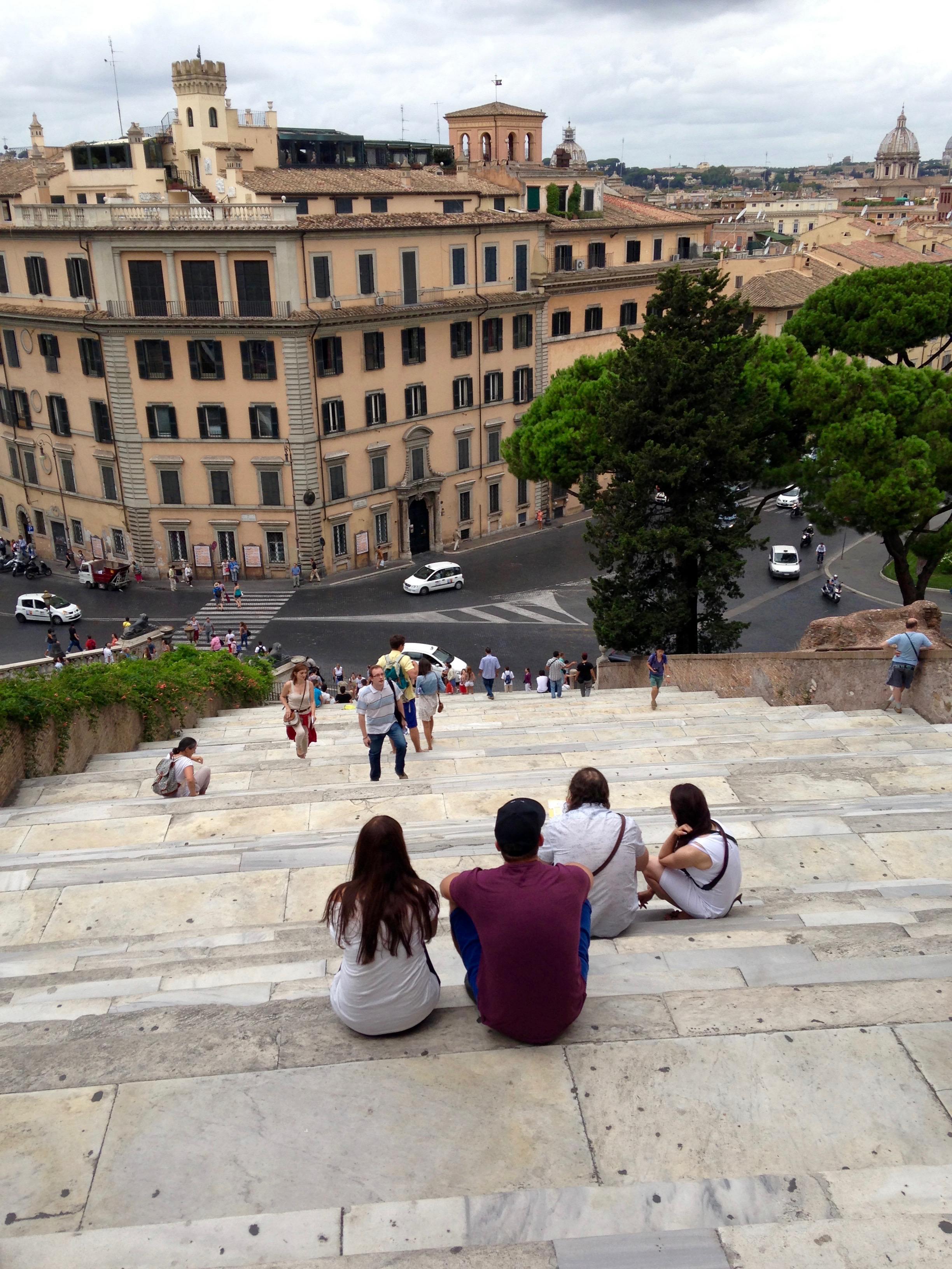 steps rome