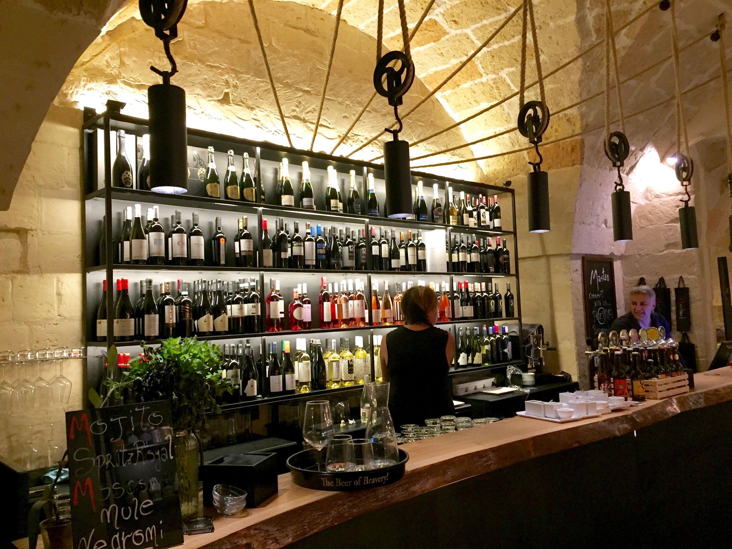 italian wine bar