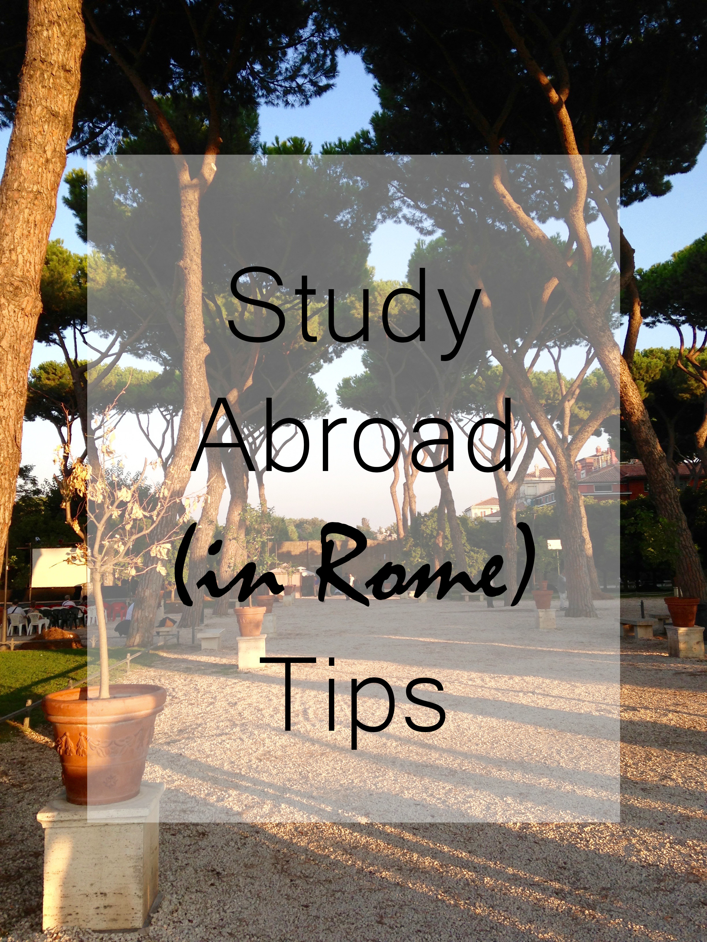 tips study abroad
