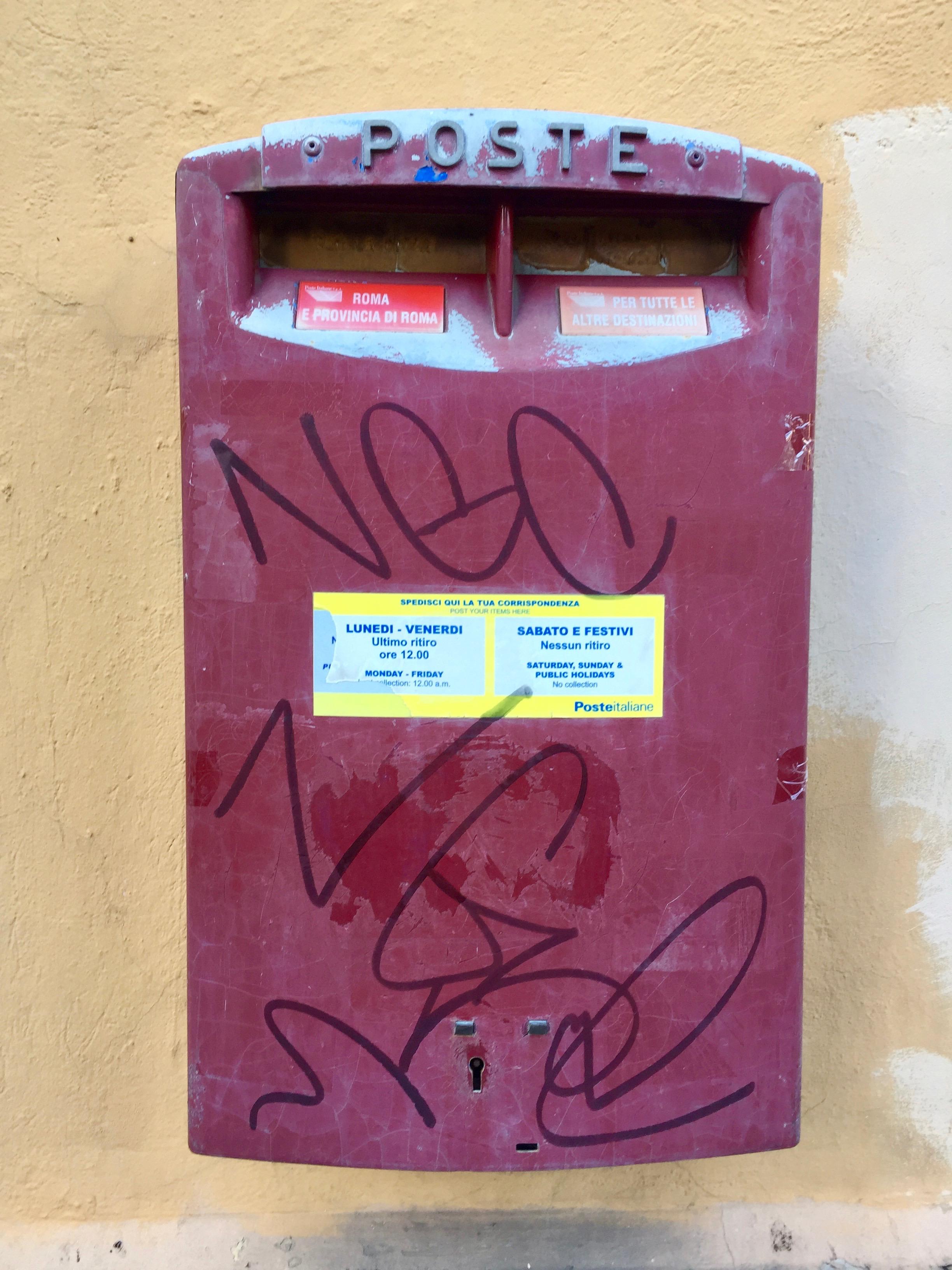 mailbox rome
