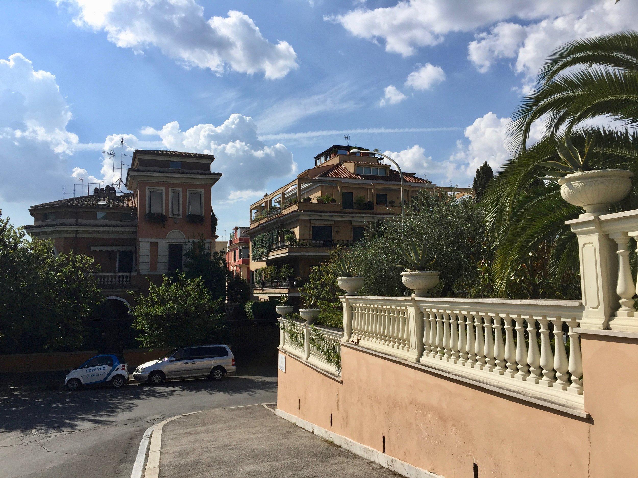 rome walls