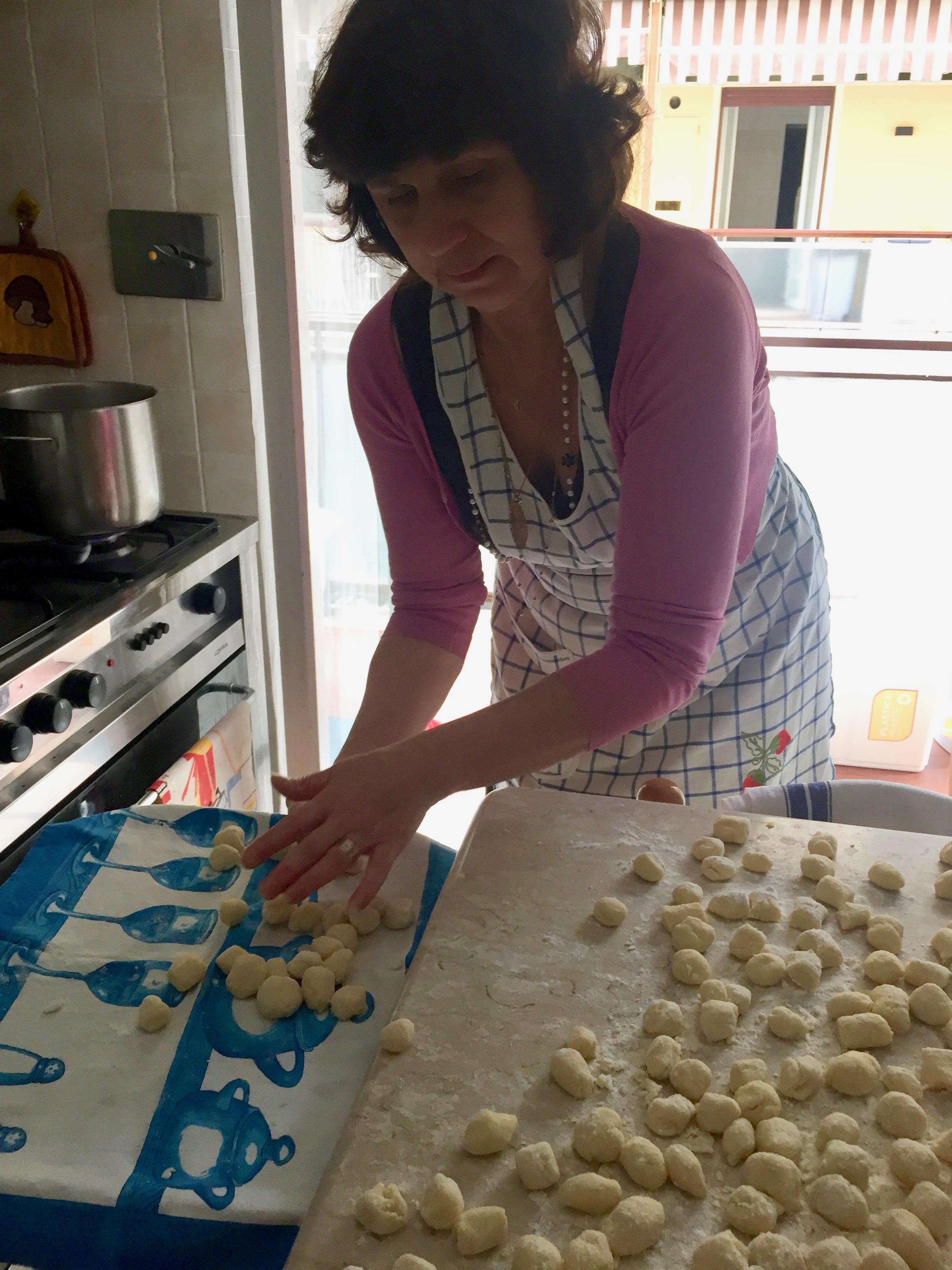 italian gnocchi by hand
