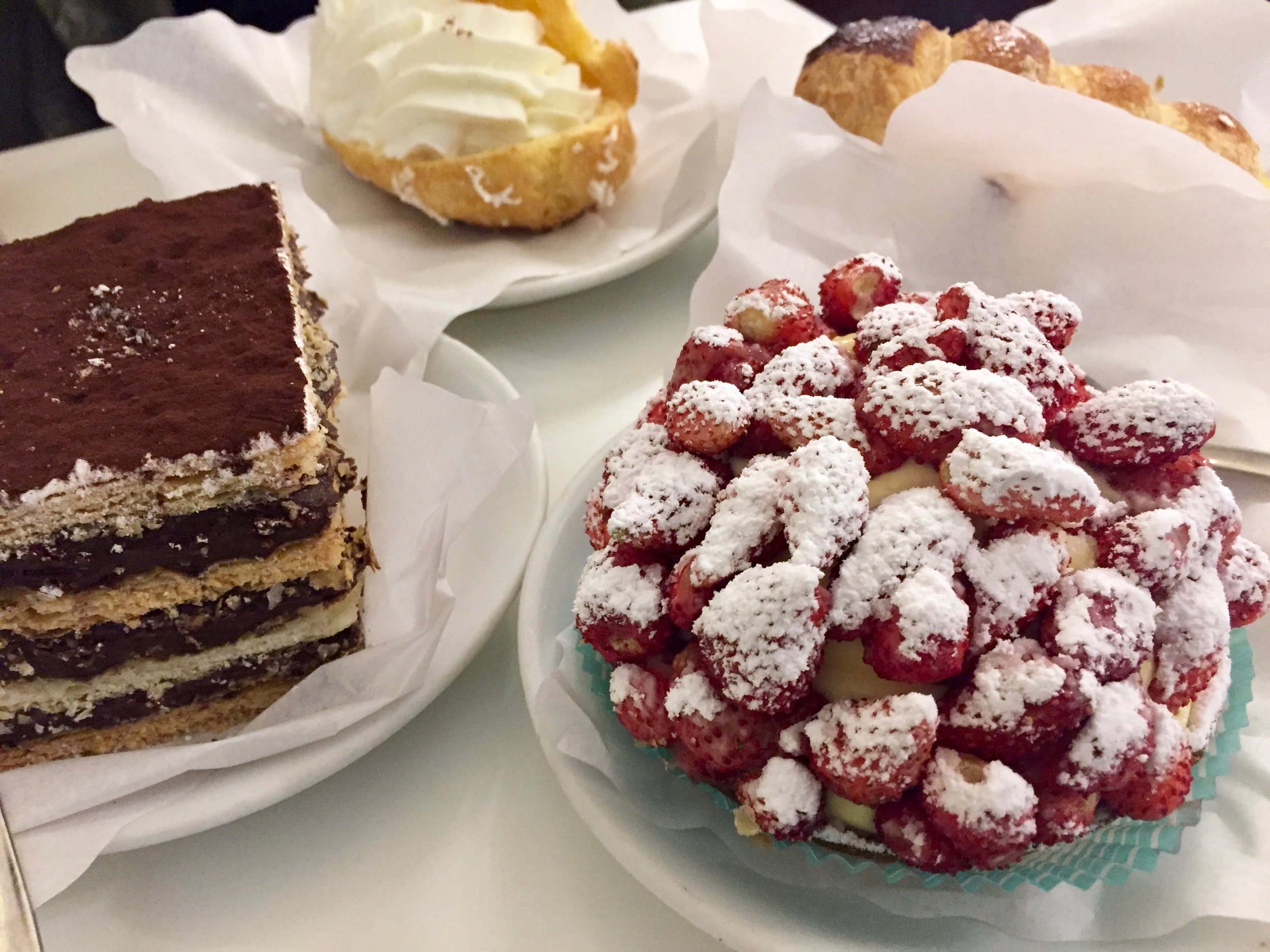 best pastries in rome