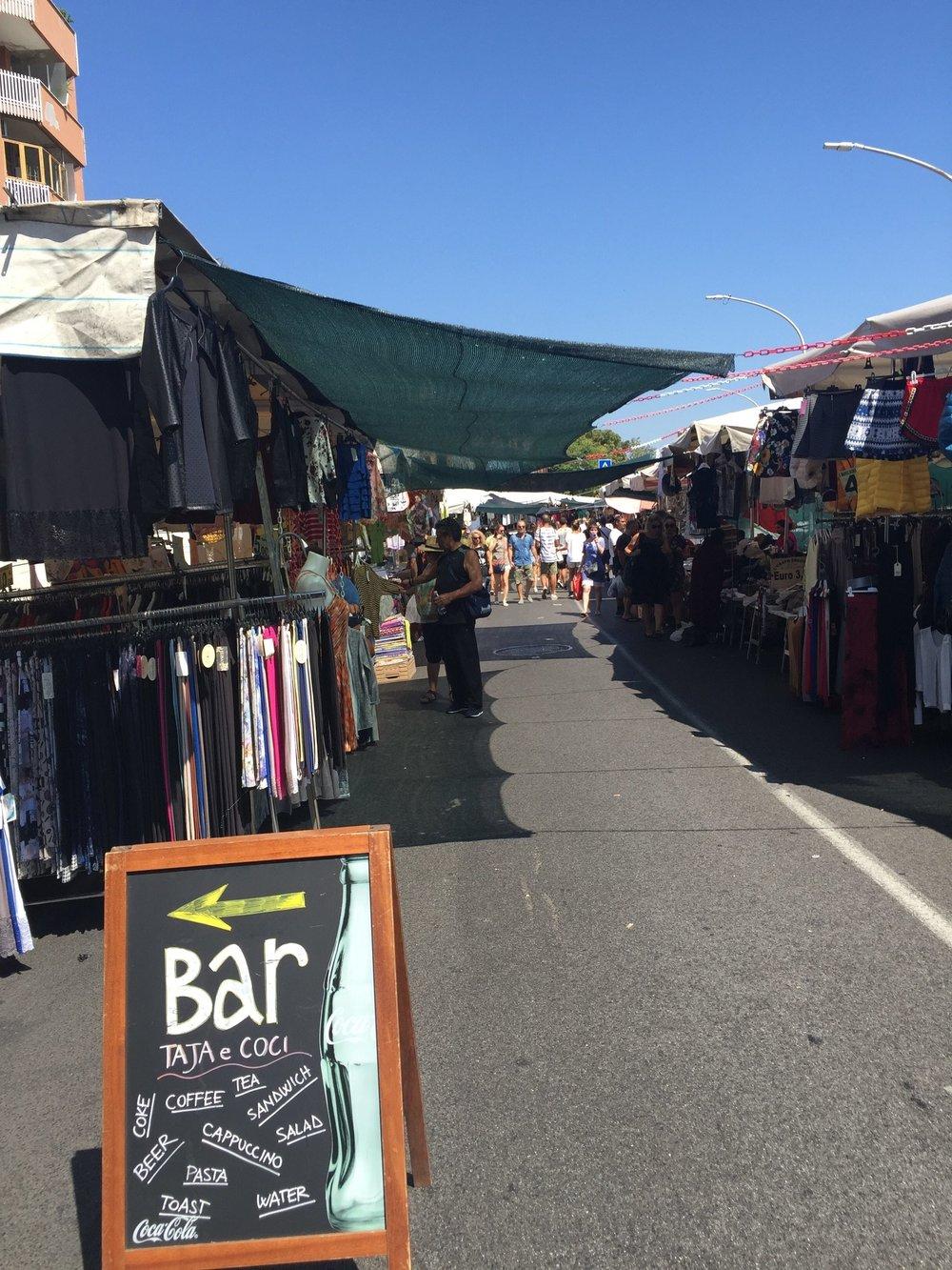 flea market rome