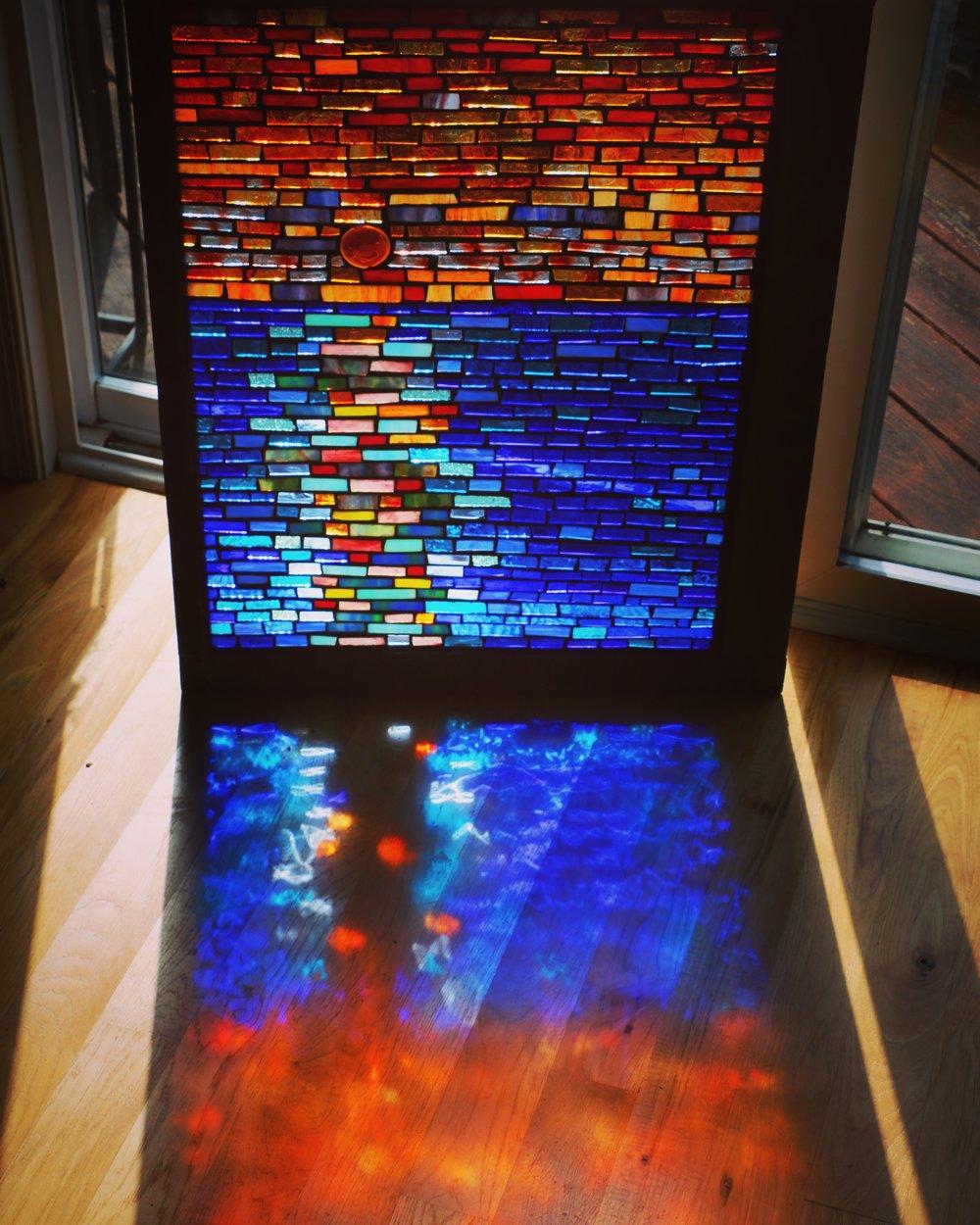 Mosaic - mosaic window
