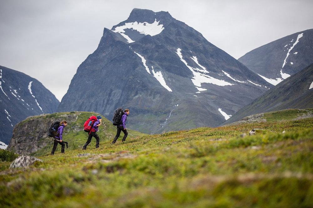 FJÄLLRÄVEN CLASSIC - 16TH AUGUST - 24TH AUGUST110km Trek across Northern Sweden10 Women teamWild camping, wild swimming and saunas!