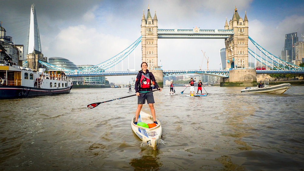 BIG BEN SUP CHALLENGE - 20km Paddleboarding event through the heart of LondonJoin our growing community of Gutsy Girl SUPers!