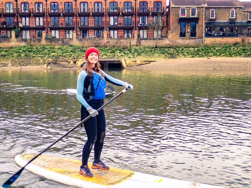 What happens if I fall in? - Wetsuits are designed to keep you warm when wet, so in the unlikely event that you do take a dip you'll still be nice and warm for the rest of the paddle.After each session, we'll head to a local bar to warm up with a tea, coffee, mulled wine or what ever takes your fancy.