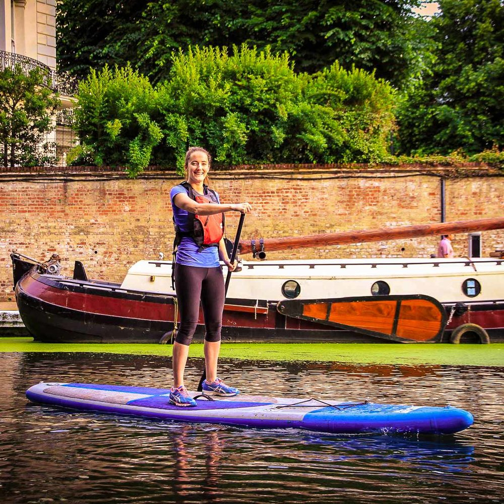 SUP ON THE GRAND UNION CANAL - ALL LEVELS WELCOME   COME LEARN WITH US!