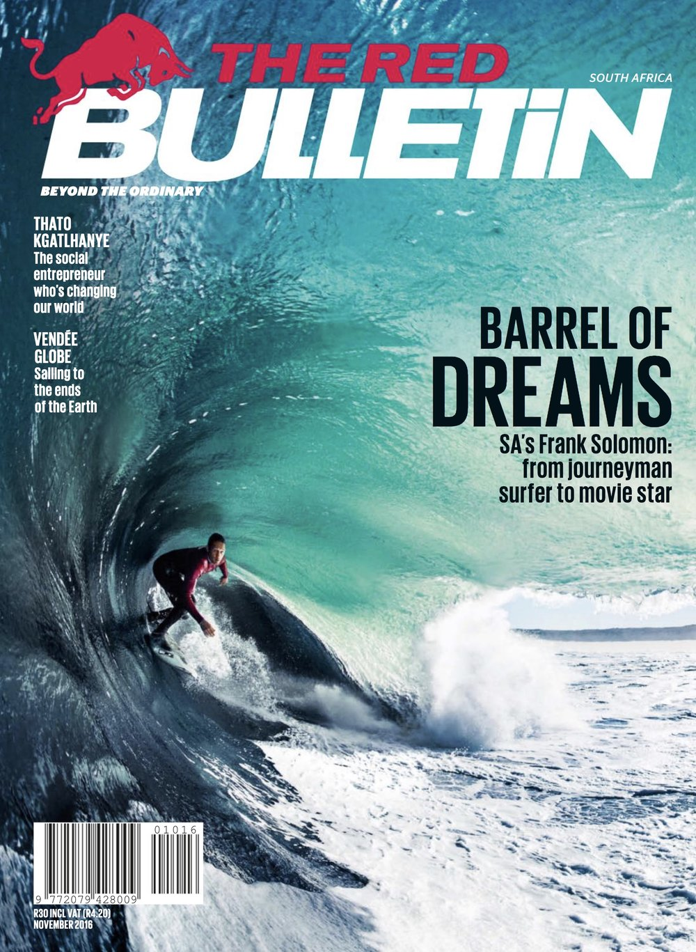 Red Bulletin - Magazine Cover - 2016