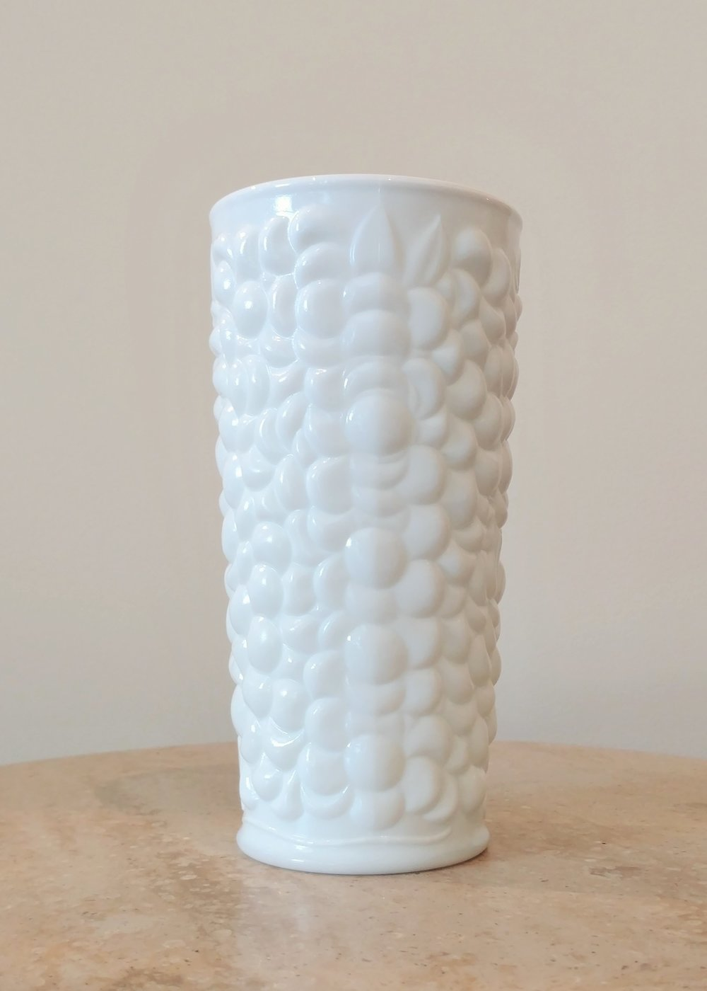"7.5"" Textured Vase (3.5"" Diameter)"