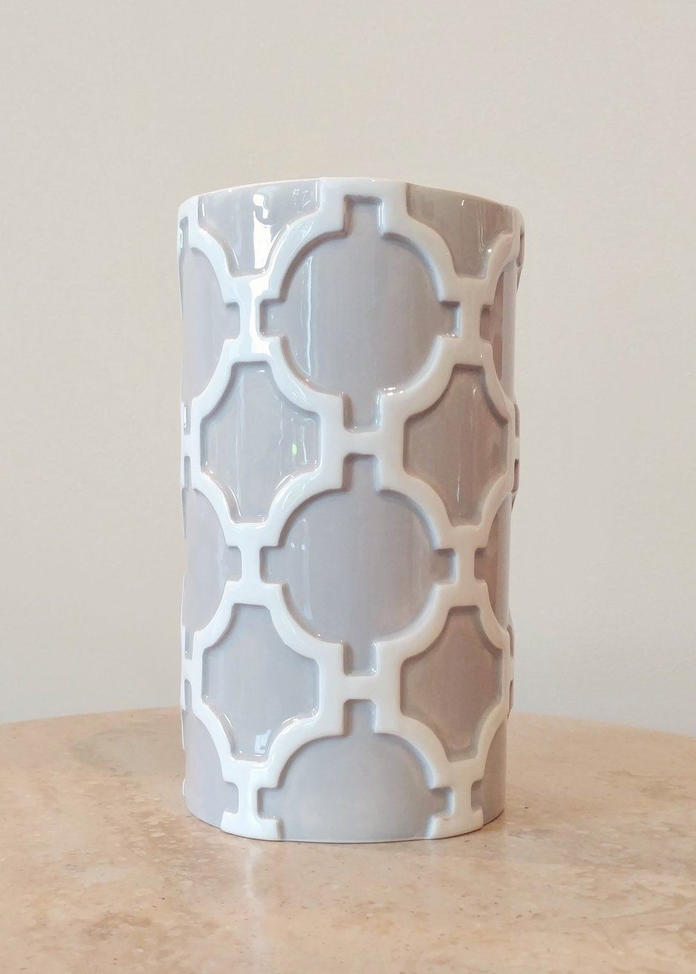 """8"""" Designer Vase (4.5"""" Diameter)"""