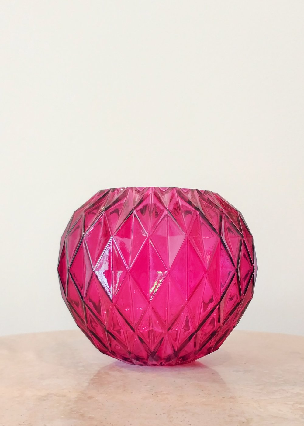 "4.5"" Textured Vase (3"" Diameter)"