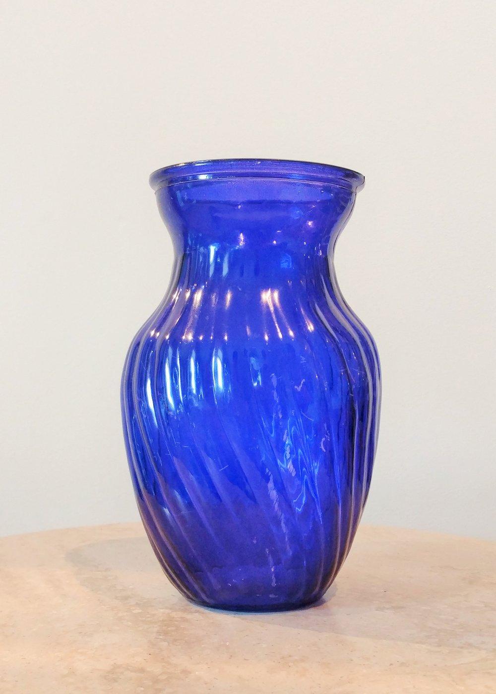 """8"""" Classic Textured Vase (4"""" Diameter)"""