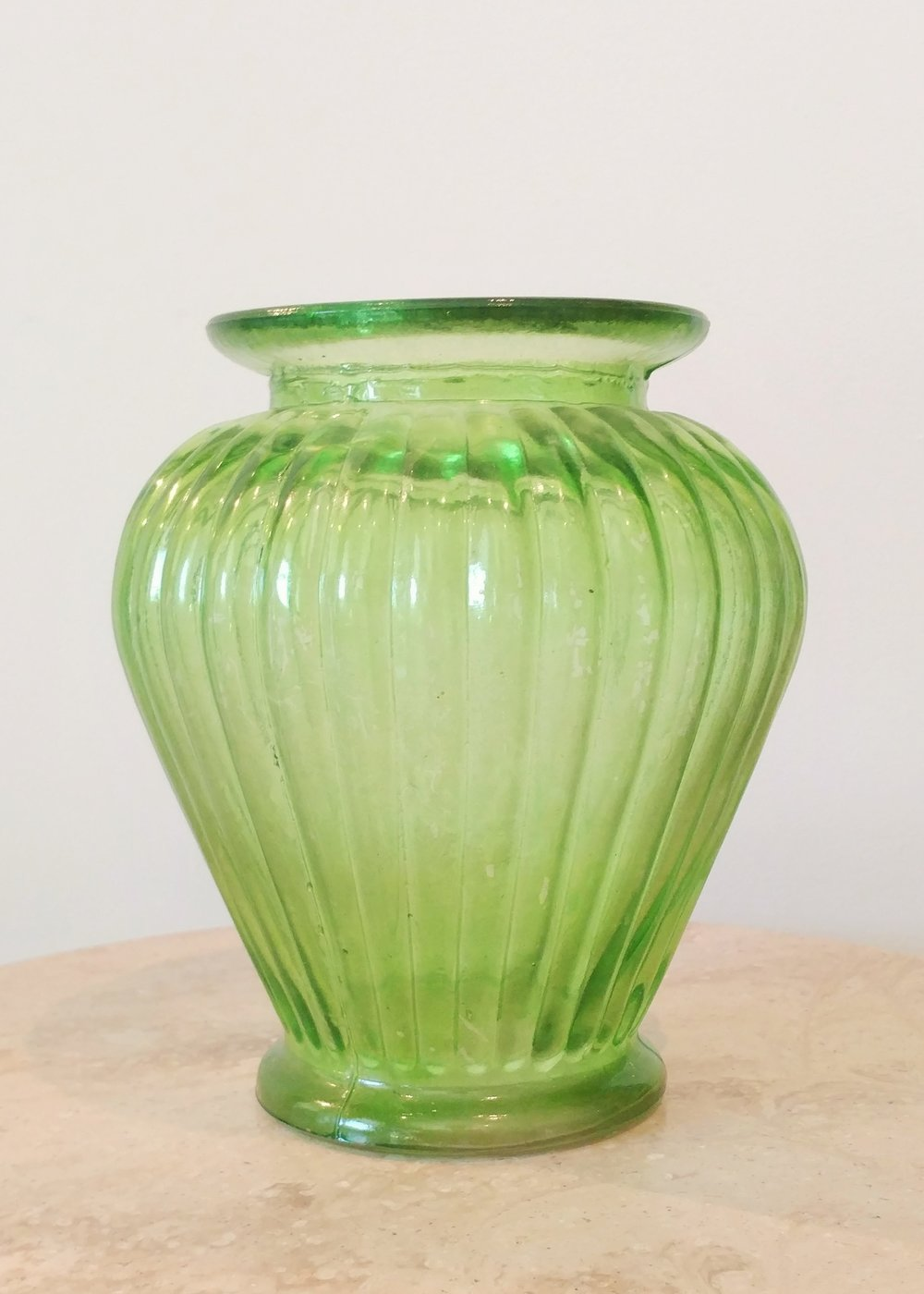 "8"" Textured Widemouth Vase (5"" Diameter)"