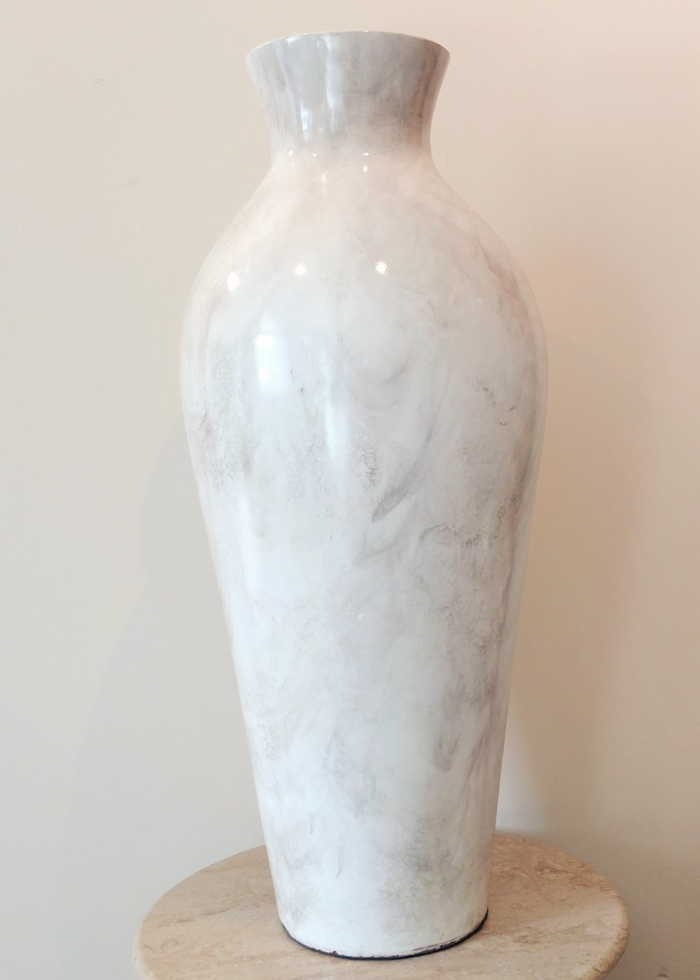 """29"""" Stone Vase"""