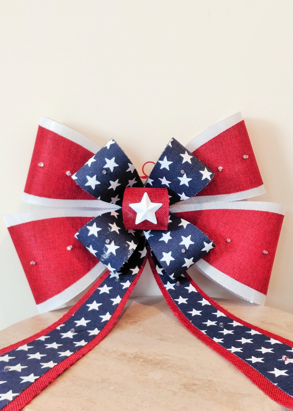 "23"" Hanging Patriotic Ribbon"