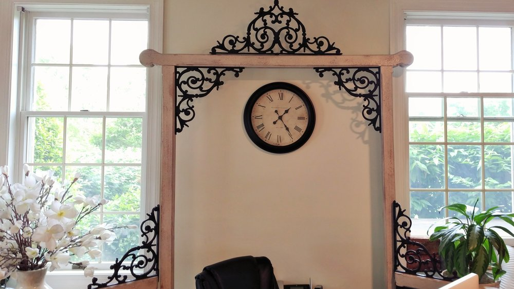 "Cast Iron Design Archway (102"" Tall, 53"" Wide)"
