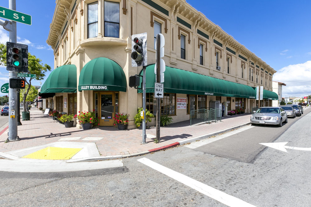 The Lilley Building, Lompoc, California 93436 16,000 sqft   REPRESENTED SELLER - $850,000 SOLD in 2017