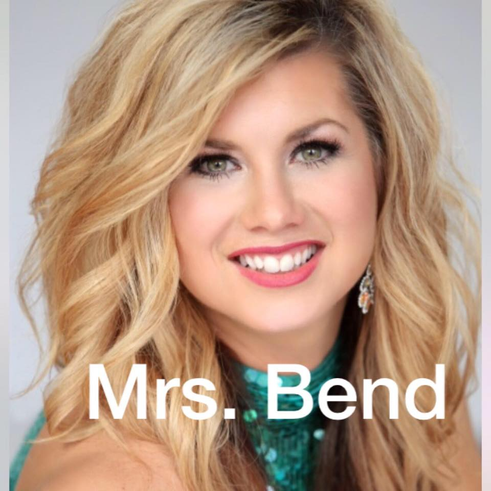 Official hair sponsor for Tiffany Gidley Mrs.Bend 2018