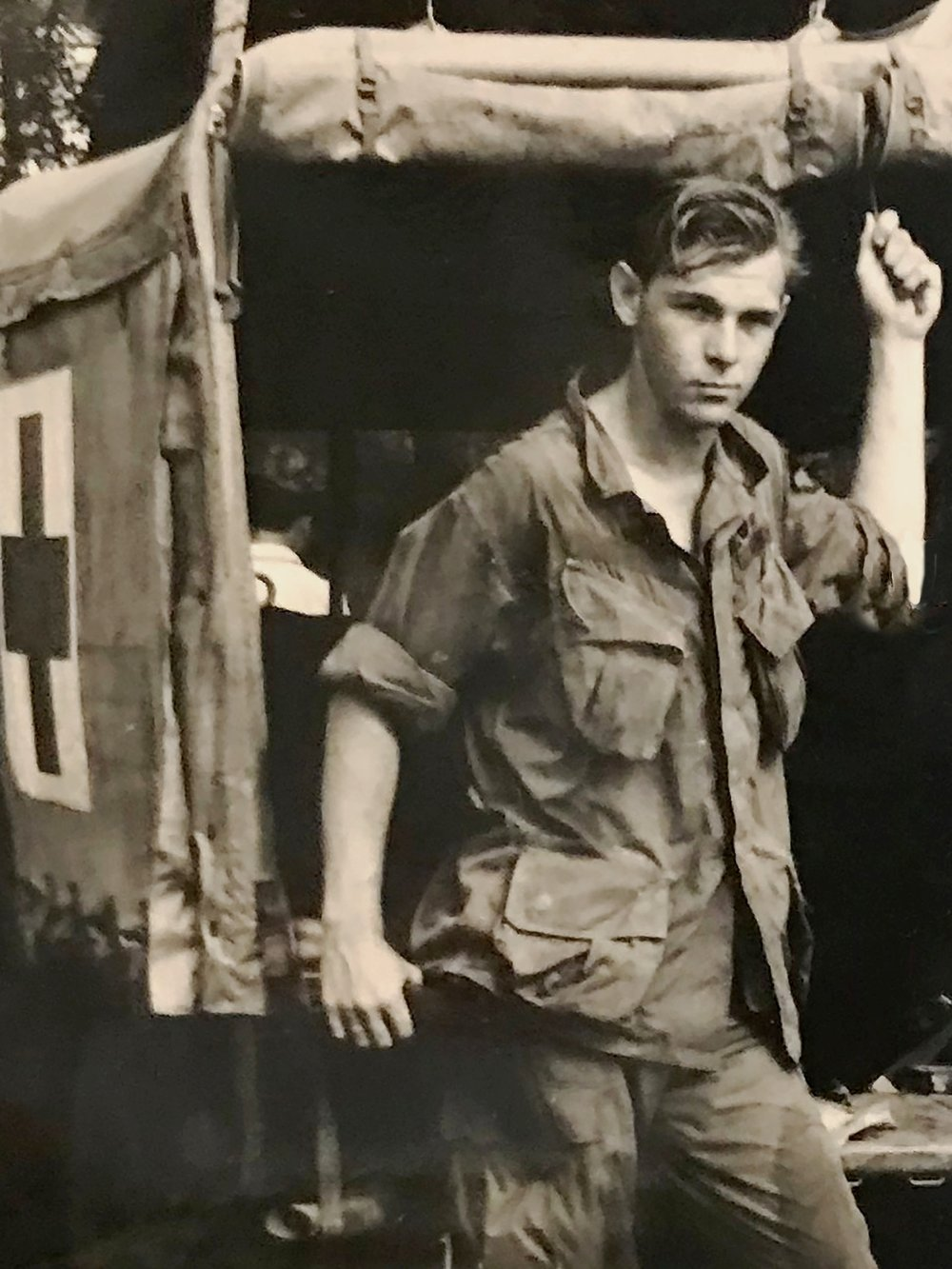 Jack Stimax  - (May 26, 1946 - February 7, 2018)Combat Medic SP4- 1st Cavalry/first of the ninthActive Duty: Dec 1965-Dec 1967Medals and Awards: Vietnam Campaign Medal, Bronze Service Star, Air Medal, Combat Medical Badge